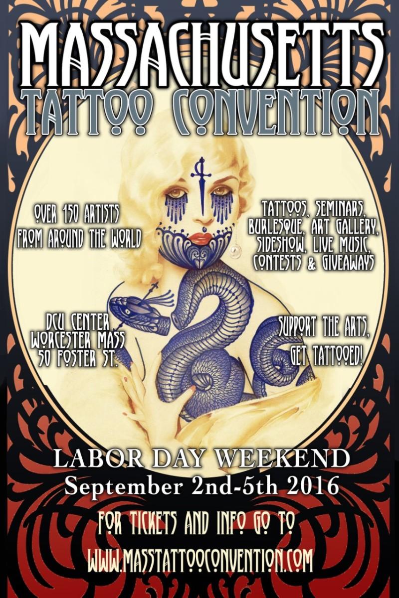 Upcoming event the massachusetts tattoo convention tri for Upcoming tattoo conventions